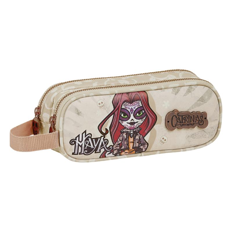 Maya double pencil case